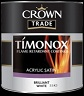 Crown Timonox Acrylic Satin colours